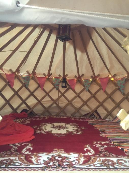 Yurt - Inside